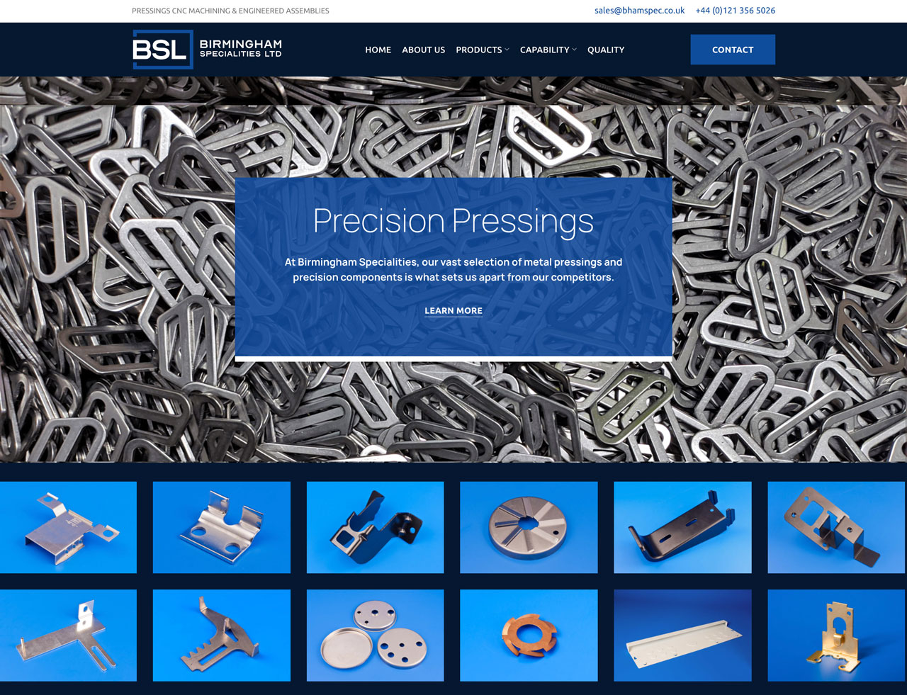 Precision Pressings New Page